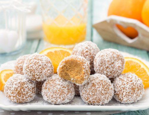 Tartufini arancia e cocco