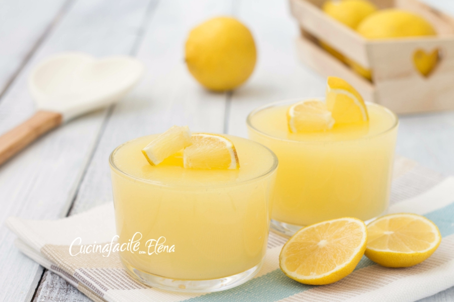 crema al limone senza uova e senza latte