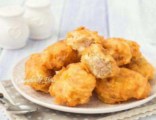 Frittelle tonno e patate