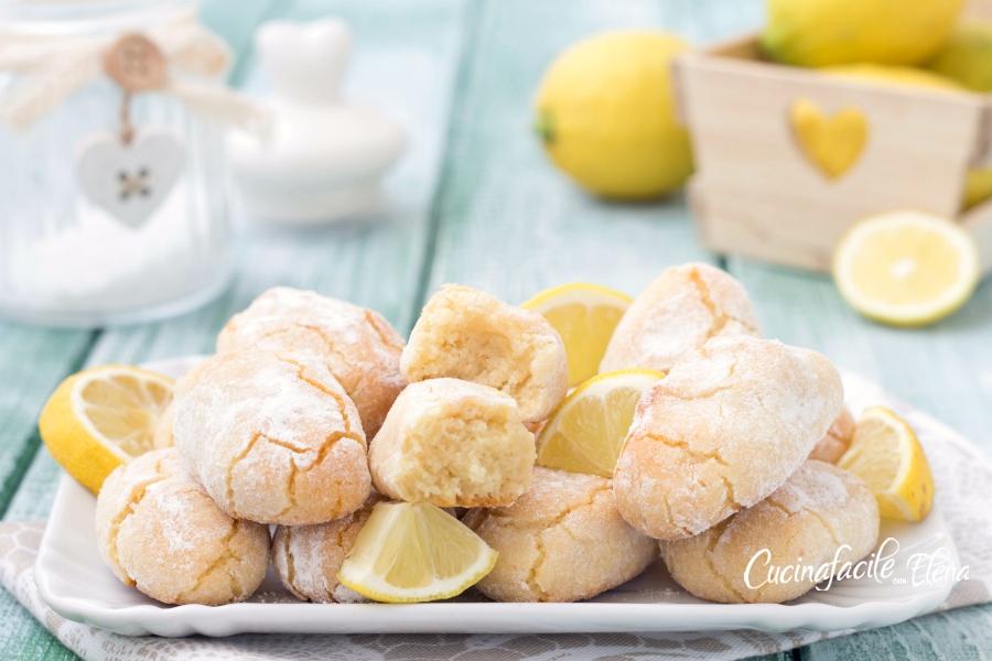 pasticcini di mandorle al limone