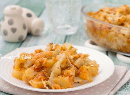 Pasticcio di patate e finocchi