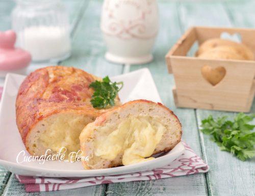 Polpettone alla pancetta e patate