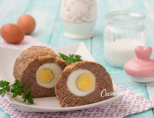 Polpettone ripieno di uova