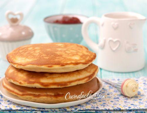 Pancakes alla panna