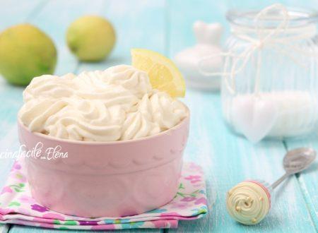 Crema paradiso al limone
