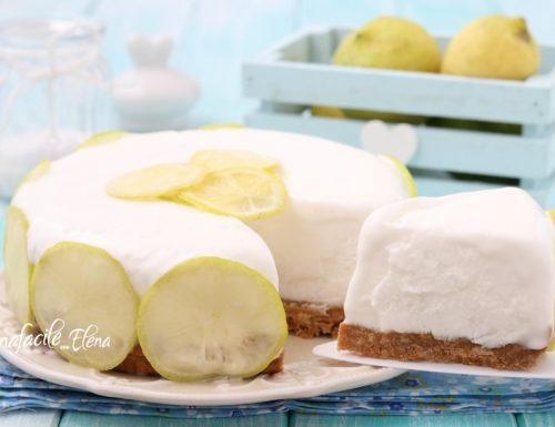 Torta gelato al limone