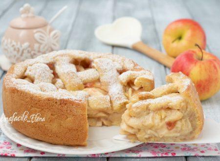Crostata di mele a strati