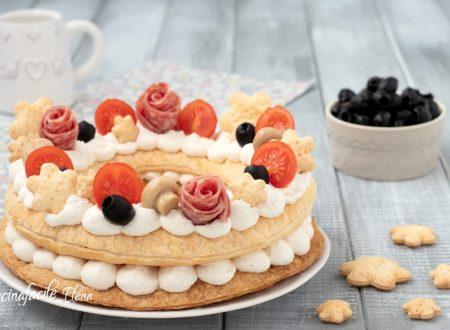 Cream tart salata di sfoglia