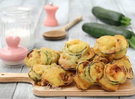 Frittelle di zucchine al cucchiaio