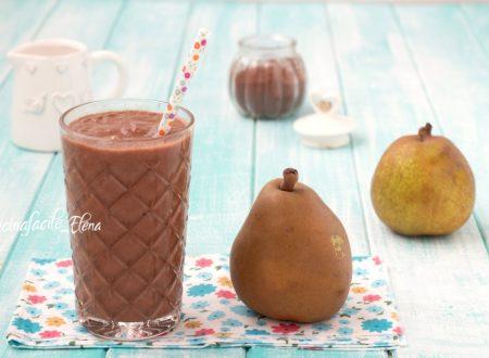 Frappè pere e cioccolato