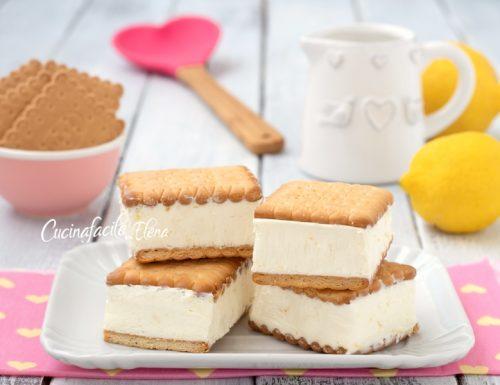 Biscotti gelato al limone