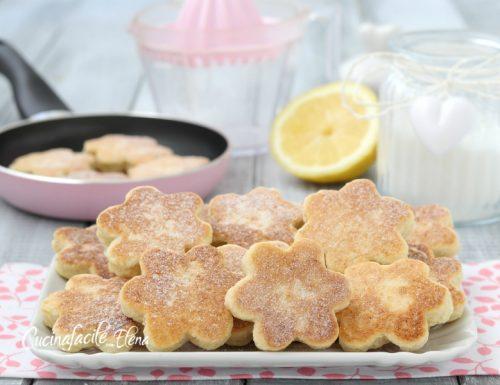 Biscotti al limone in padella