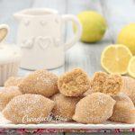 Biscotti freddi al limone