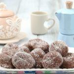 Biscotti senza cottura al caffè