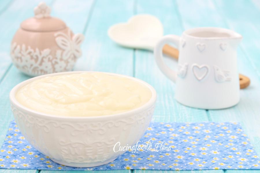 Ricetta Crema Pasticcera Allo Yogurt.Crema Pasticcera Allo Yogurt Cremosissima