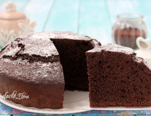 Torta nuvola nera al cioccolato