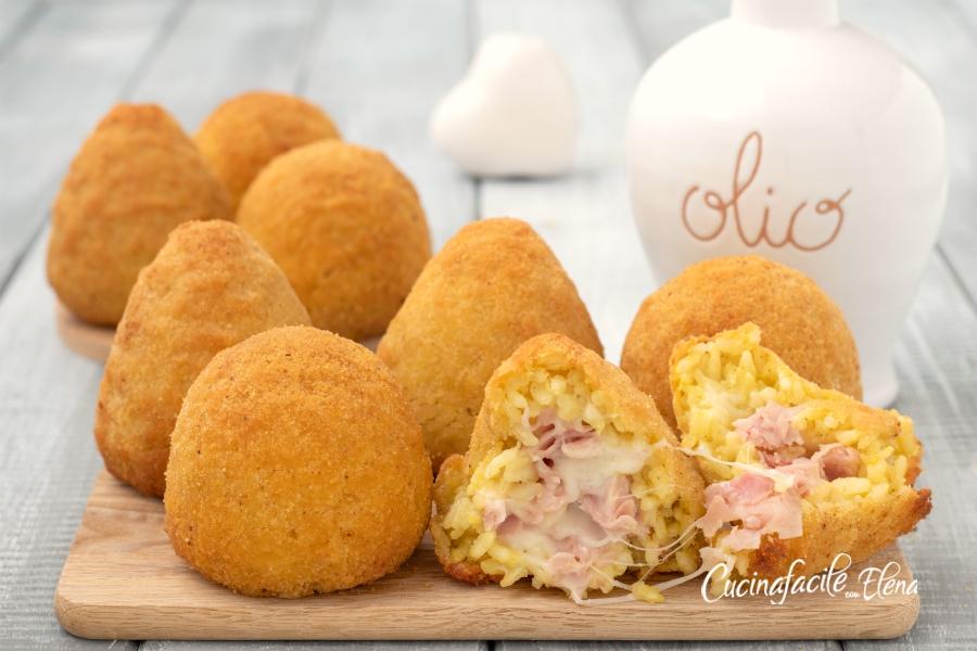 Ricette Arancini Giallo Zafferano.Arancine Arancini Di Riso Siciliani Ricetta Originale