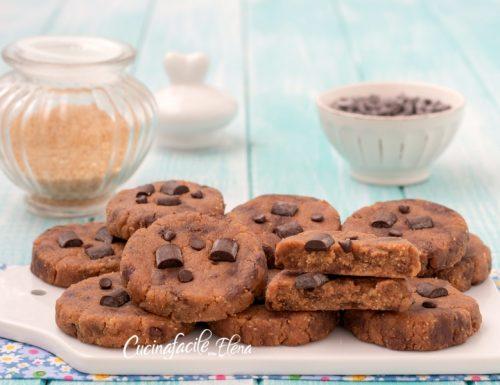 Cookies senza cottura