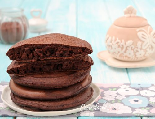 Pancakes al cioccolato