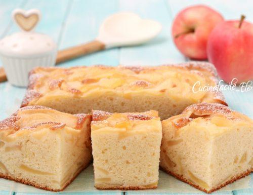 Torta sublime alle mele