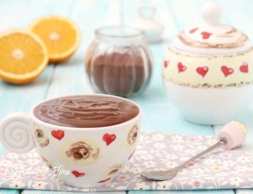 Cioccolata calda all'arancia