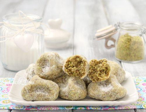 Pasticcini al pistacchio