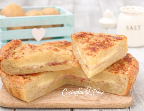 Torta di patate grattugiate