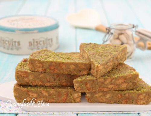 Torta di biscotti al pistacchio