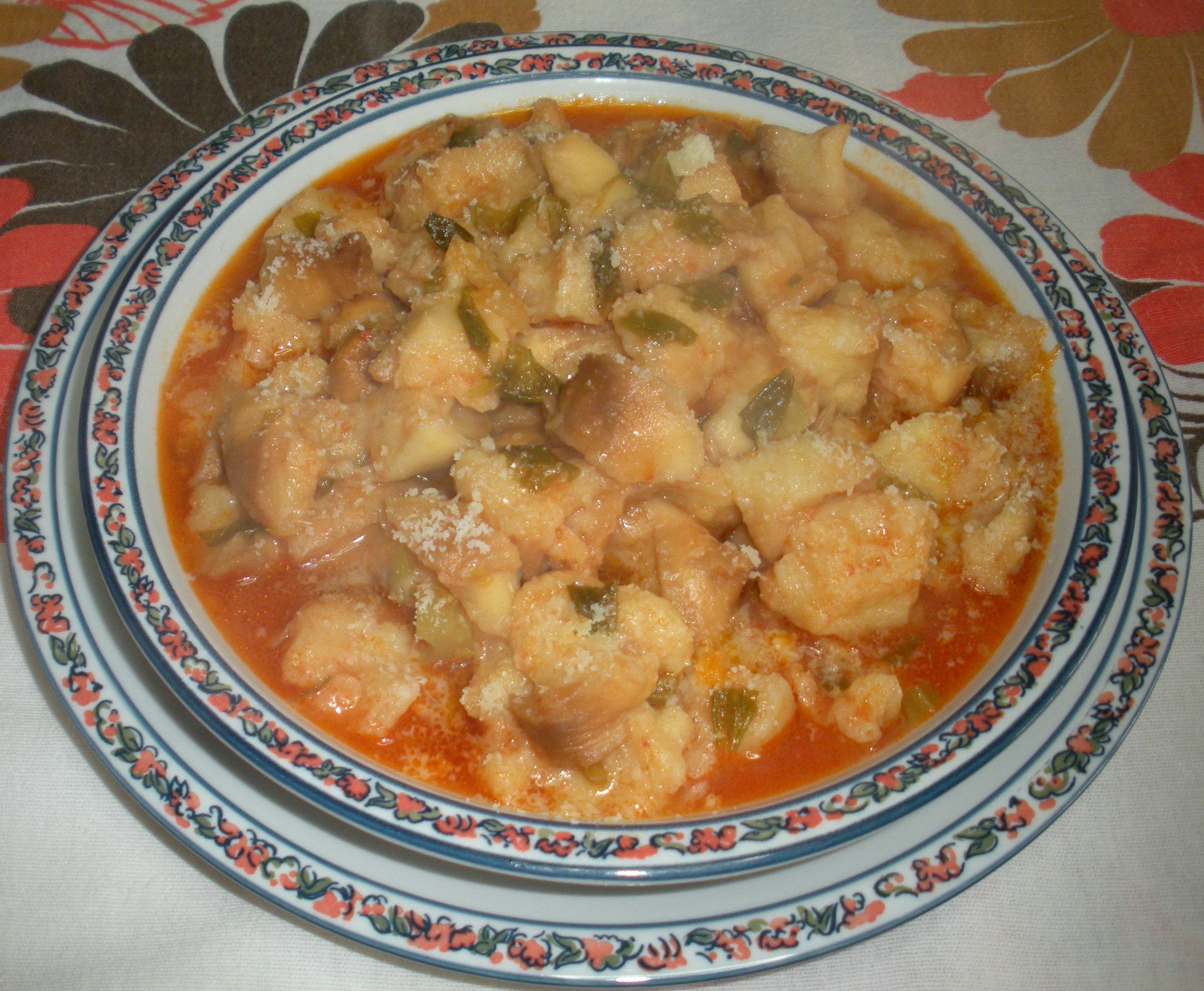 Zuppa di pane al pomodoro