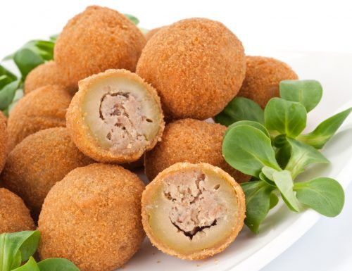 Olive all'ascolana gustose
