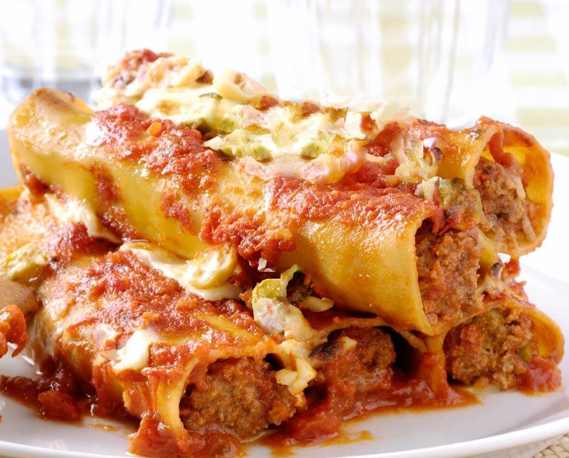 Cannelloni con ripieno di carne macinata e verdure blog for Ricette primi piatti di carne