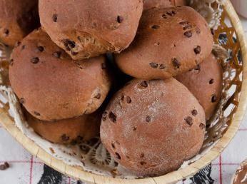 Panini dolci al cioccolato