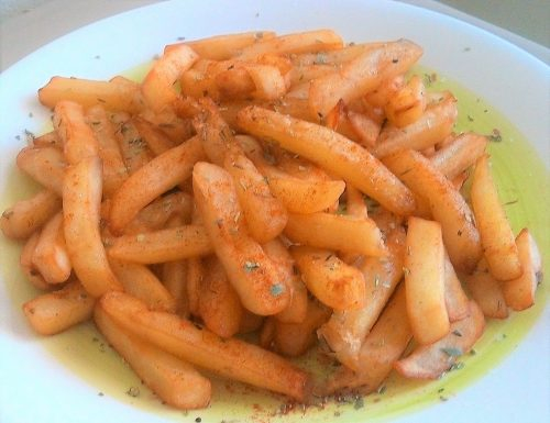 Patate fritte aromatizzate
