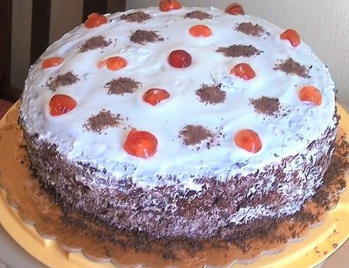 Torta ciocco-panna