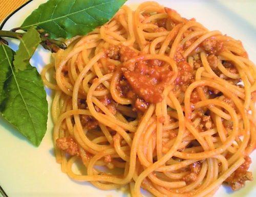 Spaghetti all'alloro