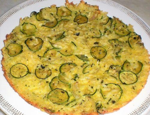 Frittata di riso con zucchine