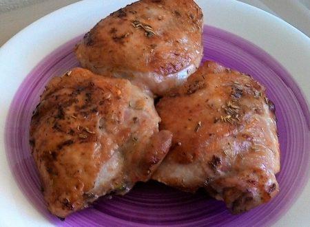 Sovracosce di pollo saporite
