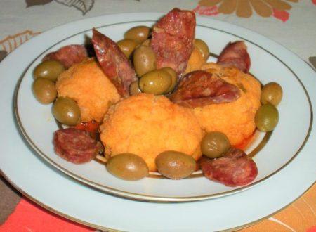Cavolfiori con salsiccia