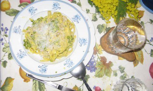 Fettuccine Mimosa