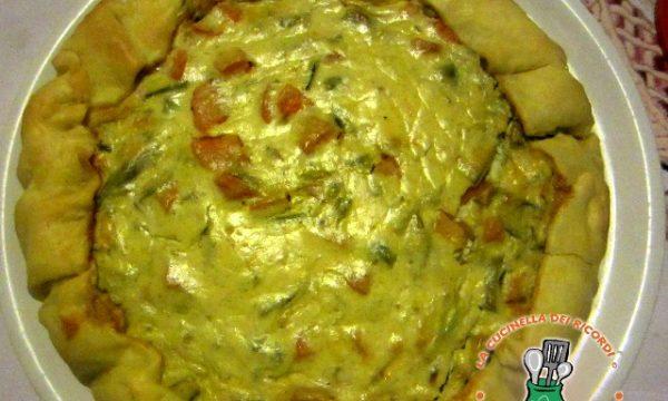 Crostata Salata Primavera