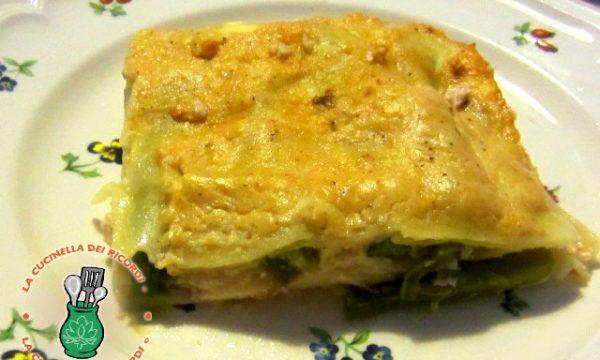 Lasagna  Asparagi e Ricotta con sorpresa di sapore