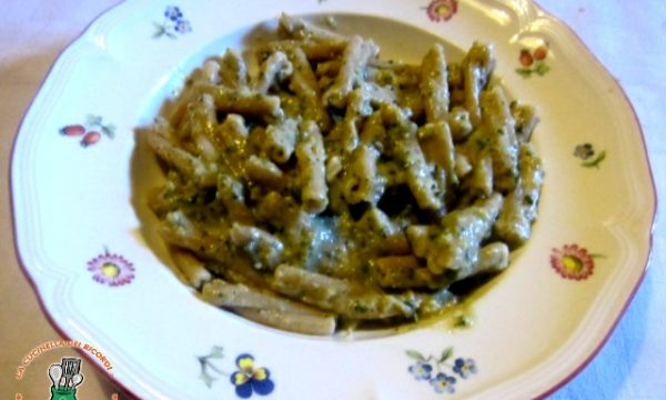 Casarecce con Pesto di Zucchini