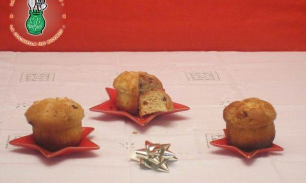 Panettoncini Muffin con lievito di birra