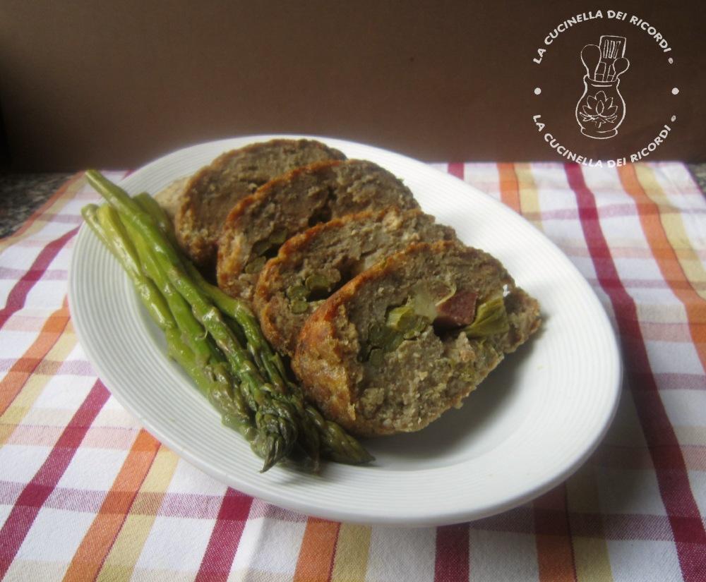 Polpettone asparagi 1