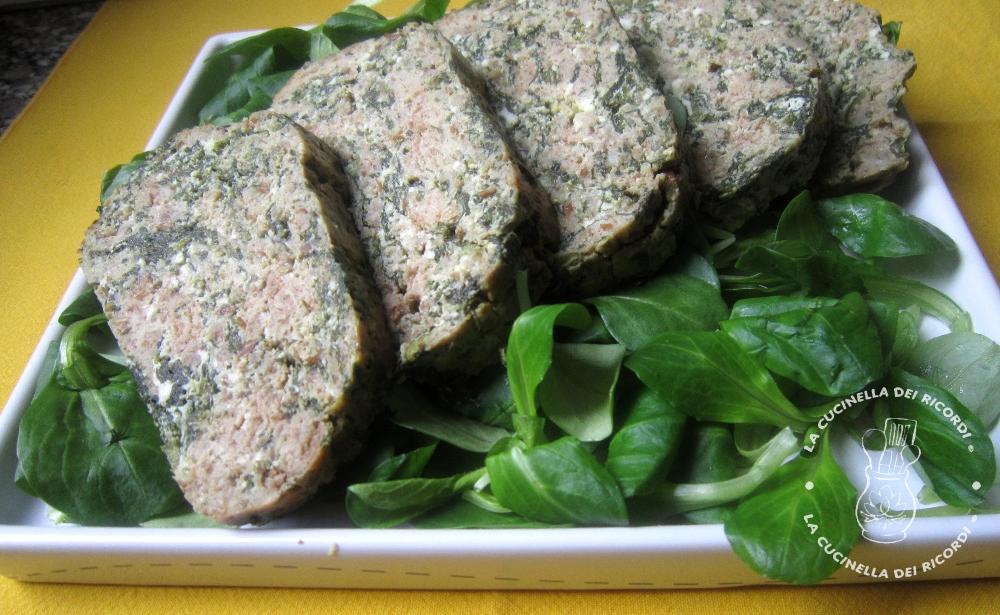 polpettone spinaci