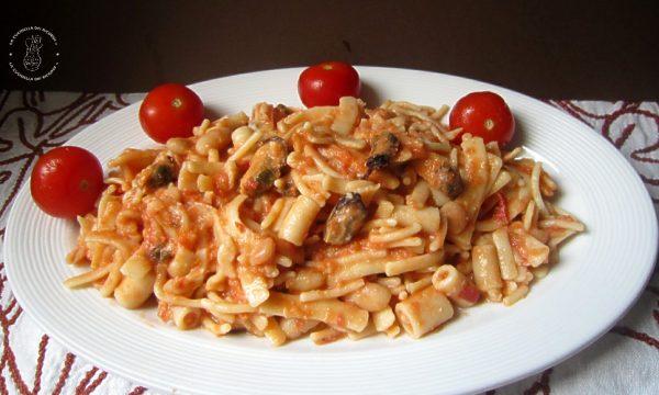 Pasta Mista Fagioli e Cozze