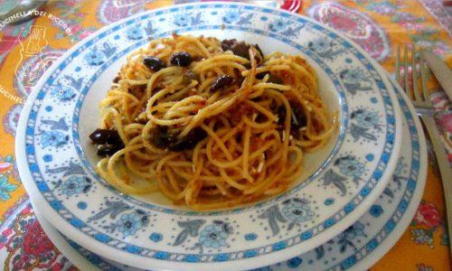Spaghetti allo scammaro