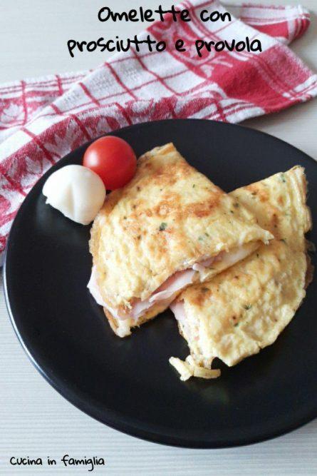 Omelette con prosciutto e provola_2