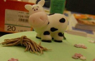 Una mucca simpatica!