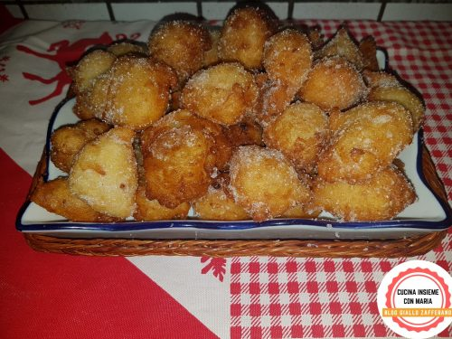 Frittelle dolci dell'Immacolata